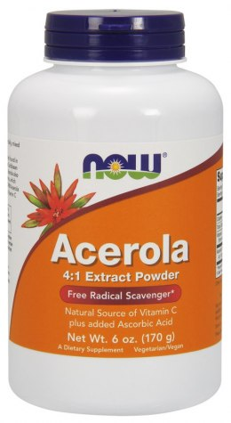 Acerola 4:1 ekstrakt 170 g NOW FOODS