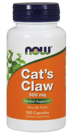 Cat's Claw (koci pazur) 100 kaps. NOW FOODS
