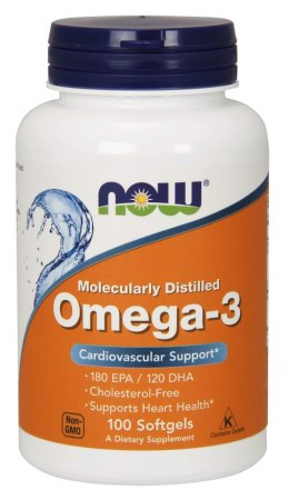NOW FOODS Omega-3 1000mg. 100sgels.
