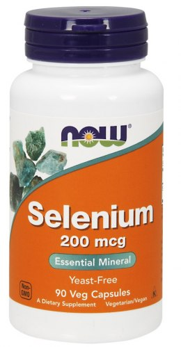 Selenium 90 kaps. NOW FOODS