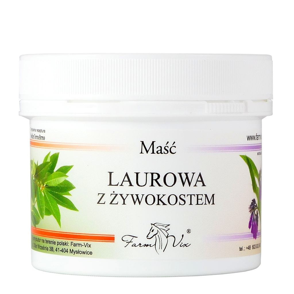 Maść laurowa z żywokostem 150 ml FARMVIX