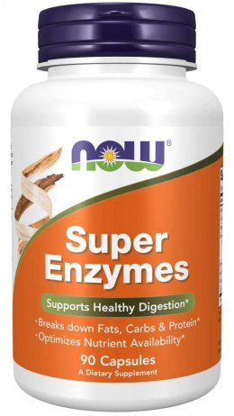 Super Enzymes 90 kaps. NOW FOODS